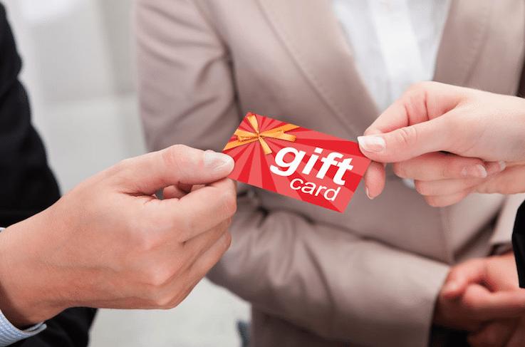 Gift card program