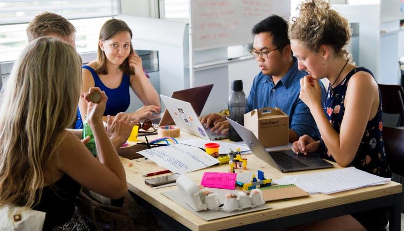 remote startup team