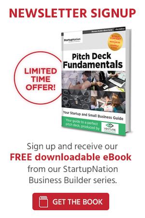 Elevator Pitch - StartupNation