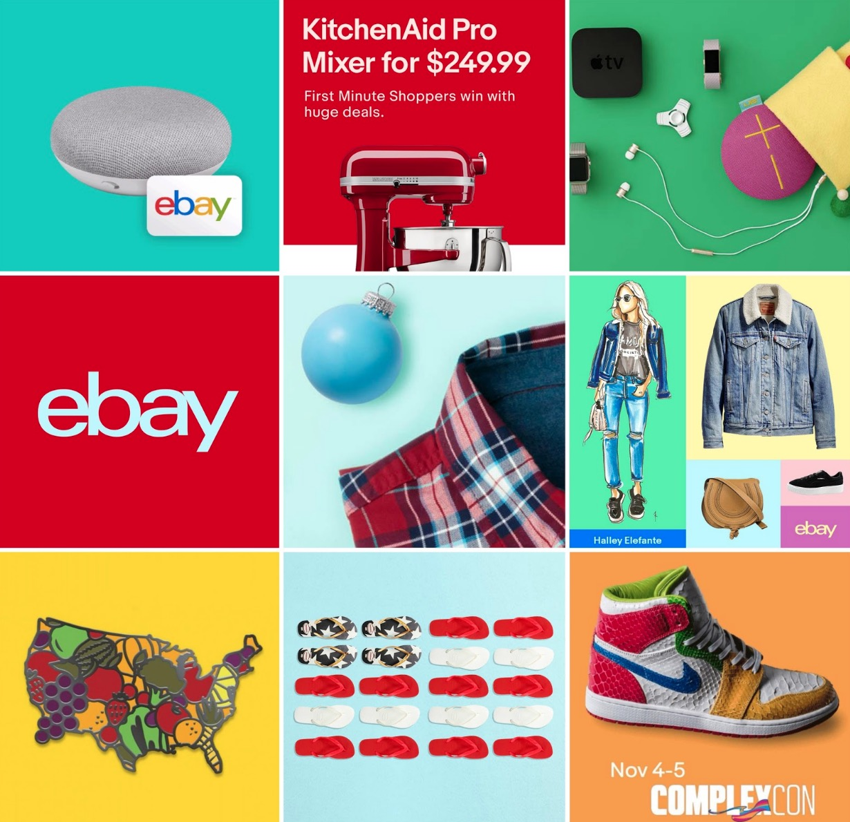 eBay social shares