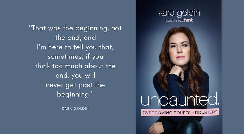Kara Goldin Undaunted