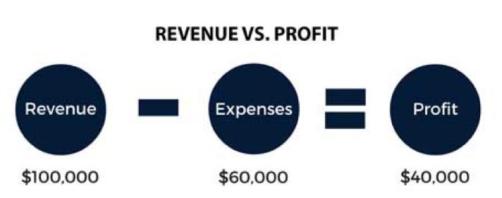 revenue vs. profit
